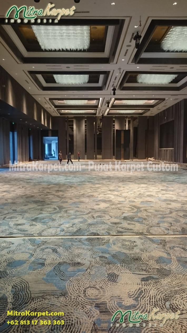 karpet hotel ballroom terbaik surabya doubletree